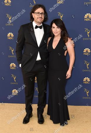 Dan Cohen, Traci Cohen. Dan Cohen, left, and Traci Cohen arrive at the 70th Primetime Emmy Awards, at the Microsoft Theater in Los Angeles