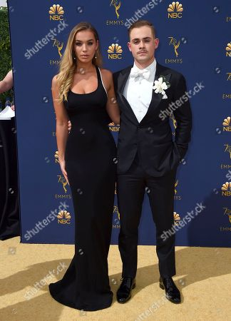 Dacre Montgomery, Liv Pollock. Liv Pollock, left, and Dacre Montgomery arrive at the 70th Primetime Emmy Awards, at the Microsoft Theater in Los Angeles