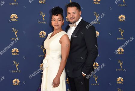 Brandon J Dirden, Crystal Anne Dickinson. Brandon J Dirden, right, and Crystal Anne Dickinson arrive at the 70th Primetime Emmy Awards, at the Microsoft Theater in Los Angeles