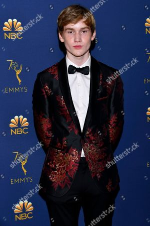 Editorial image of 70th Primetime Emmy Awards - Arrivals, Los Angeles, USA - 17 Sep 2018