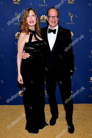 Stock Photo of Laura Day, Stephen Schiff. Laura Day and Stephen Schiff arrive at the 70th Primetime Emmy Awards, at the Microsoft Theater in Los Angeles