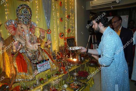 Editorial image of Ganesha Chaturthi Festival, Mumbai, India  - 13 Sep 2018