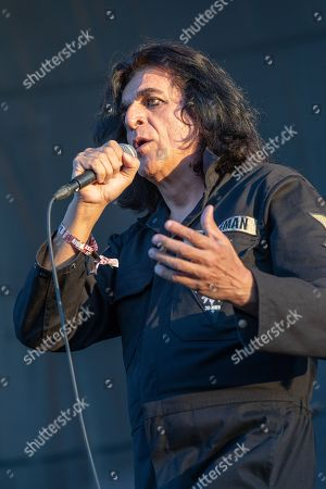 Stock Image of Killing Joke - Jaz Coleman