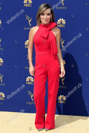 Kit Hoover arrives for the 70th annual Primetime Emmy Awards ceremony held at the Microsoft Theater in Los Angeles, California, USA, 17 September 2018. The Primetime Emmys celebrate excellence in national prime-time television programming.