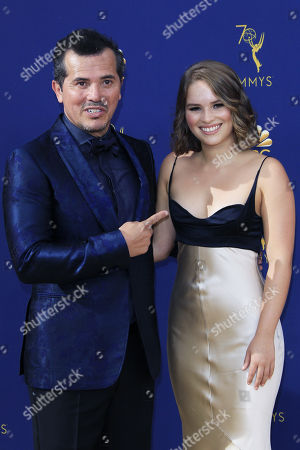 John Leguizamo (L) and Allegra Leguizamo arrive for the 70th annual Primetime Emmy Awards ceremony held at the Microsoft Theater in Los Angeles, California, USA, 17 September 2018. The Primetime Emmys celebrate excellence in national prime-time television programming.