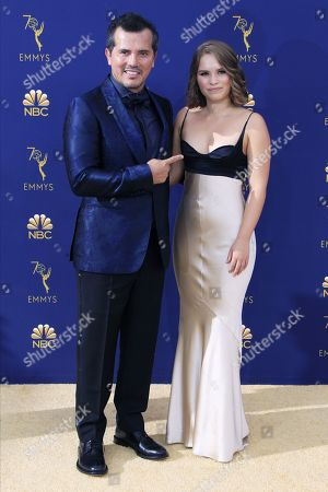 Stock Photo of John Leguizamo (L) and Allegra Leguizamo arrive for the 70th annual Primetime Emmy Awards ceremony held at the Microsoft Theater in Los Angeles, California, USA, 17 September 2018. The Primetime Emmys celebrate excellence in national prime-time television programming.