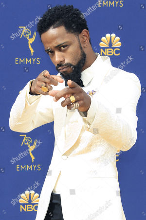 Lakeith Stanfield  arrives for the 70th annual Primetime Emmy Awards ceremony held at the Microsoft Theater in Los Angeles, California, USA, 17 September 2018. The Primetime Emmys celebrate excellence in national prime-time television programming.
