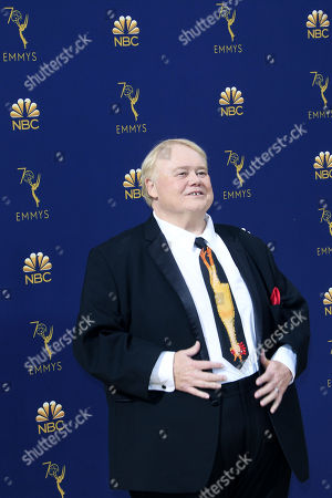 Louie Anderson arrives for the 70th annual Primetime Emmy Awards ceremony held at the Microsoft Theater in Los Angeles, California, USA, 17 September 2018. The Primetime Emmys celebrate excellence in national prime-time television programming.