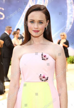 Alexis Bledel arrives at the 70th Primetime Emmy Awards, at the Microsoft Theater in Los Angeles
