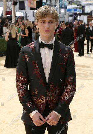 Stock Photo of Matt Lintz arrives at the 70th Primetime Emmy Awards, at the Microsoft Theater in Los Angeles