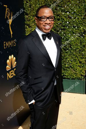 Hayma Washington, Chairman and CEO of the Television Academy, arrives at the 70th Primetime Emmy Awards, at the Microsoft Theater in Los Angeles