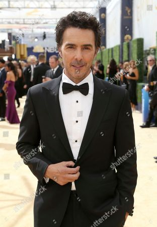 Shawn Levy arrives at the 70th Primetime Emmy Awards, at the Microsoft Theater in Los Angeles