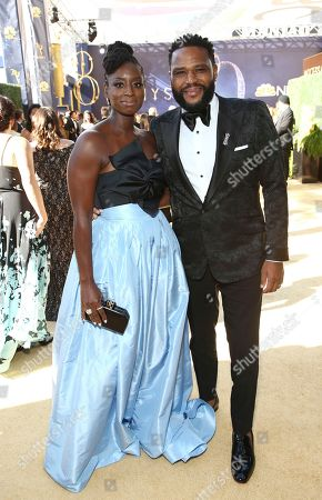 Anthony Anderson, Alvina Stewart. Anthony Anderson, right, and Alvina Stewart arrive at the 70th Primetime Emmy Awards, at the Microsoft Theater in Los Angeles
