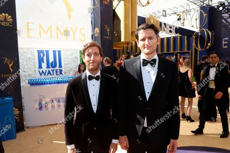 Editorial photo of FIJI Water at the 70th Primetime Emmy Awards, Los Angeles, USA - 17 Sep 2018