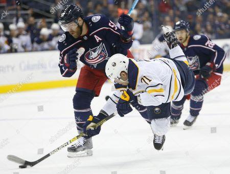 Sabres Blue Jackets Hockey, Columbus, USA - 17 Sep 2018