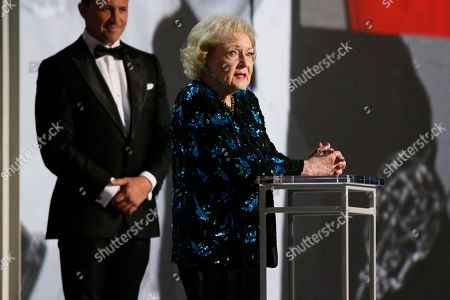 Stock Photo of Betty White onstage at the 70th Primetime Emmy Awards, at the Microsoft Theater in Los Angeles