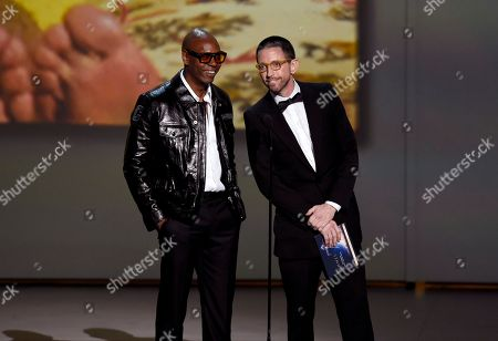 Dave Chappelle, Neal Brennan. Dave Chappelle, left, and Neal Brennan present the award for outstanding variety sketch series at the 70th Primetime Emmy Awards, at the Microsoft Theater in Los Angeles
