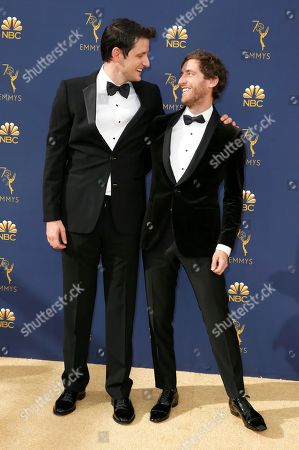 Stock Picture of Zach Woods, Thomas Middleditch