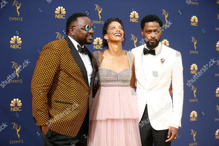 Brian Tyree Henry, Stefani Robinson, Lakeith Stanfield