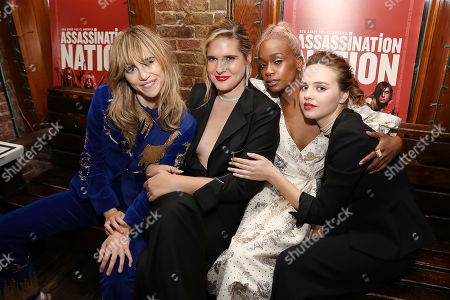Suki Waterhouse, Hari Nef, Abra and Odessa Young