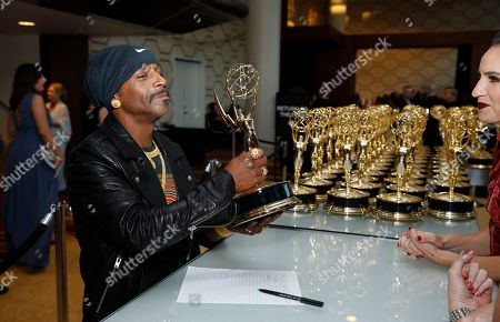Editorial photo of 70th Primetime Emmy Awards - Trophy Table, Los Angeles, USA - 17 Sep 2018