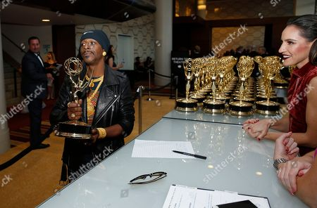 Editorial image of 70th Primetime Emmy Awards - Trophy Table, Los Angeles, USA - 17 Sep 2018
