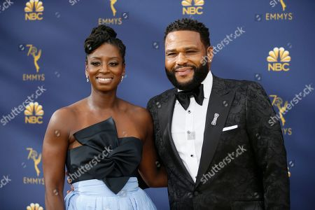 Alvina Stewart, Anthony Anderson. Alvina Stewart, left, and Anthony Anderson