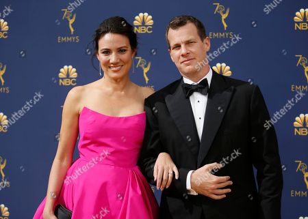 Lisa Joy, Jonathan Nolan. Lisa Joy, left, and Jonathan Nolan