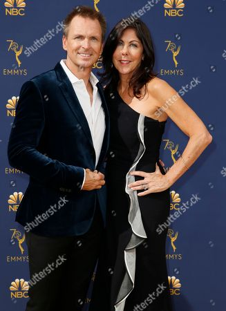 Stock Picture of Phil Keoghan, Louise Rodrigues. Phil Keoghan, left, and Louise Rodrigues
