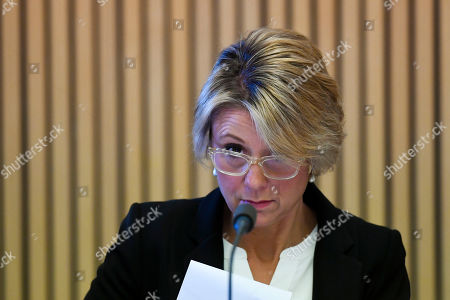 Labor Senator Kristina Keneally speaks during a Senate Public Hearing at Parliament House in Canberra, Australia, 18 September 2018. The inquiry is seeking details on why the government granted the six-year funding stream to the small not-for-profit foundation without going to tender, and how it plans to use the money.