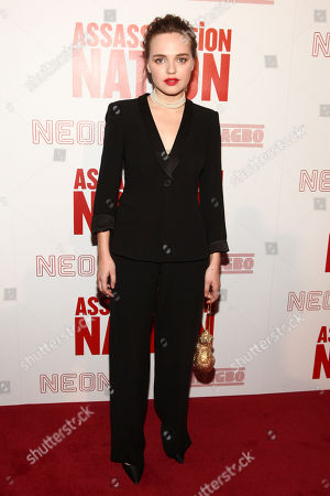 "Odessa Young attends a special screening of ""Assassination Nation"" at Metrograph, in New York"