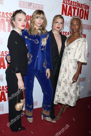 Odessa Young, Suki Waterhouse, Hari Nef and Abra