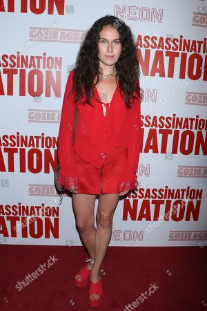 Editorial picture of 'Assassination Nation' film premiere, New York, USA - 17 Sep 2018