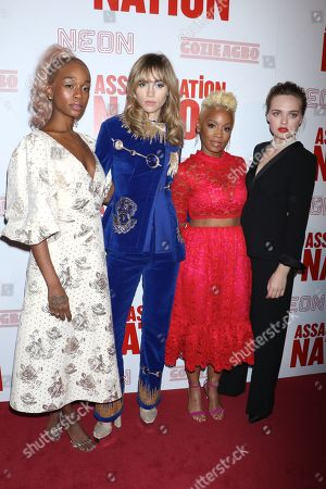 Abra, Suki Waterhouse, Anika Noni Rose and Odessa Young