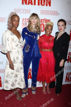 Editorial image of 'Assassination Nation' film premiere, New York, USA - 17 Sep 2018