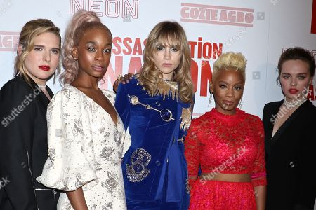 Hari Nef, Abra, Suki Waterhouse, Anika Noni Rose and Odessa Young