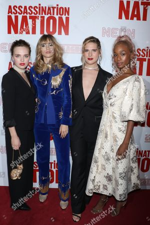 Stock Photo of Odessa Young, Suki Waterhouse, Hari Nef and Abra