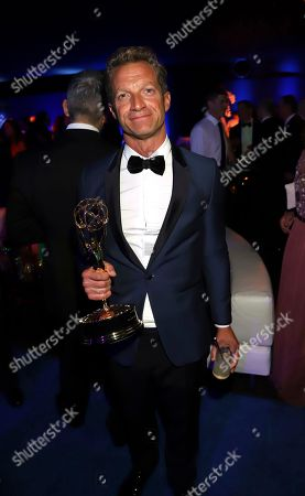 Tom Rob Smith attends the Governors Ball for the 70th Primetime Emmy Awards, at the Microsoft Theater in Los Angeles