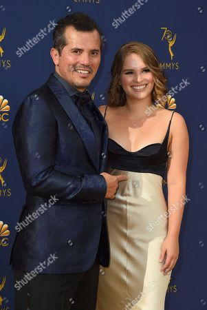 John Leguizamo, Allegra Leguizamo. John Leguizamo and Allegra Leguizamo arrive at the 70th Primetime Emmy Awards, at the Microsoft Theater in Los Angeles