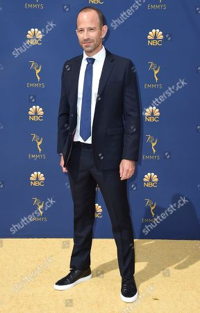 Michael Rubens arrives at the 70th Primetime Emmy Awards, at the Microsoft Theater in Los Angeles