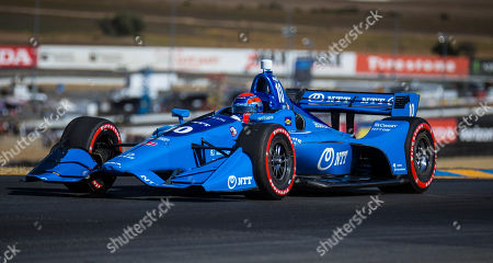 Sonoma, CA, U.S.A : Chip Ganassi Racing driver Ed Jones (10) of United Arab Emirates coming out of turn 2 during the GoPro Grand Prix of Sonoma Verizon Indycar Championship at Sonoma Raceway Sonoma, CA Thurman James / CSM