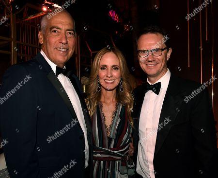 Gary Newman, Dana Walden. Peter Rice