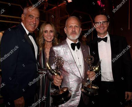 Gary Newman, Dana Walden. Ryan Murphy, Peter Rice