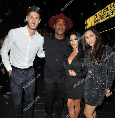 Jack Fowler, Simon Webbe and guests