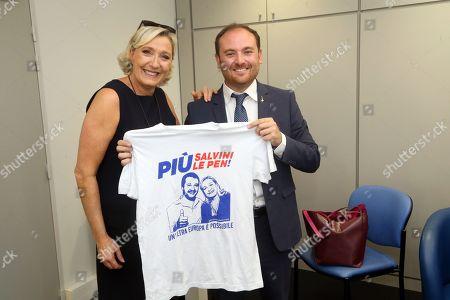 Marine Le Pen, Flavio di Muro