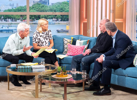 Phillip Schofield and Holly Willoughby with Graeme Worsnop and Mark Williams-Thomas