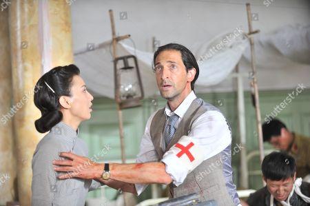 Shengyi Huang as Du Mei, Adrien Brody as Steve