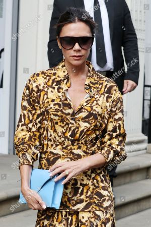 Stock Picture of Victoria Beckham at the Victoria Beckham Store, Dover Street