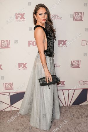 Editorial picture of 70th Primetime Emmy Awards, Fox Party Arrivals, Los Angeles, USA - 17 Sep 2018