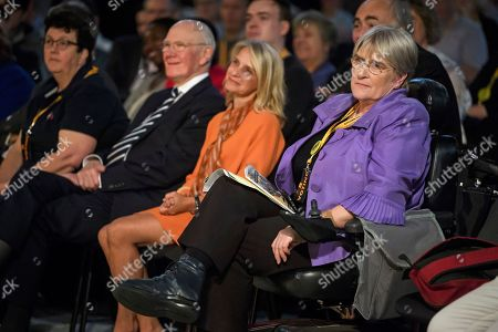 Former party leader Sir Menzies Campbell and Lib Dem peer Sal Brinton attend the final day